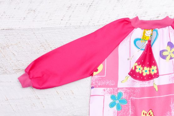 Funky Fairy Smock with Pink Sleeves