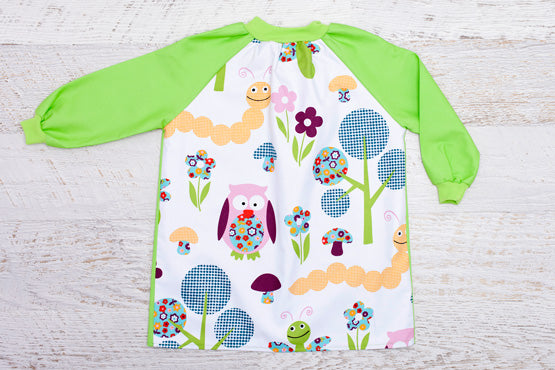 Garden long sleeve smock