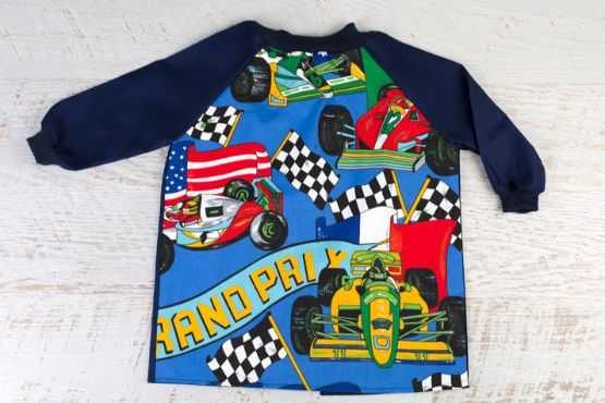 Racing Car Art Smock