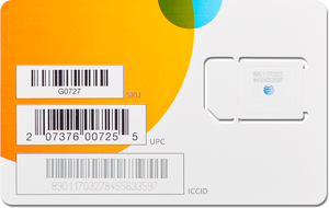 AT&T IoT SIM Card for GPS Tracker or IOT Device LTE-M 4G