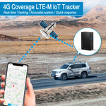 Ablegrid® 4G LTE IoT GPS Tracker, Real-Time GPS Tracking Device for Vehicles and Persons Portable Magnetic GPS Locator