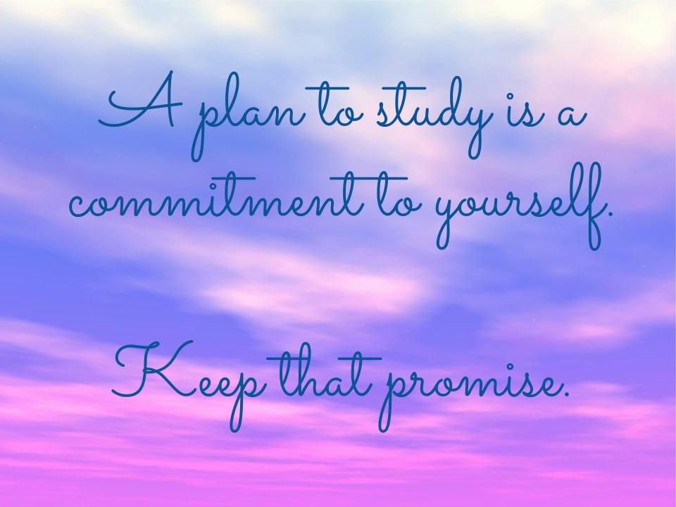 Make a Promise to Yourself - 3 Tips