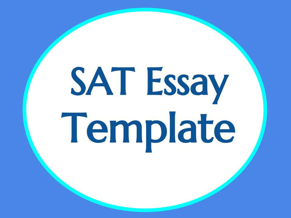 SAT Essay Writing Template
