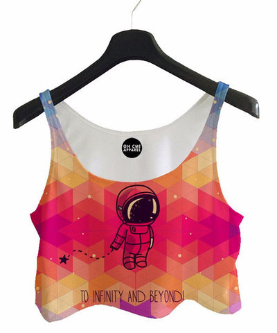 To Infinity Crop Top