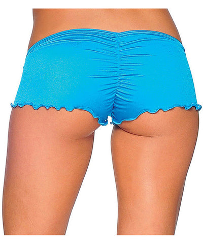 Scrunch Back Micro Shorts