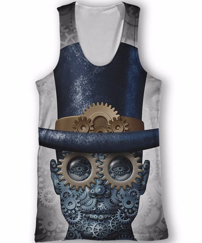 Gear Head Tank Top