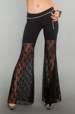 Pants with Lace