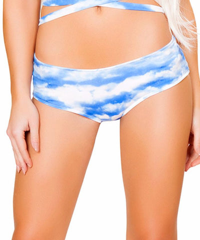 Cloud Print Light-Up Shorts