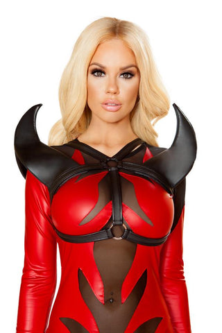 Shoulder Pieces for Evil Devil Costume