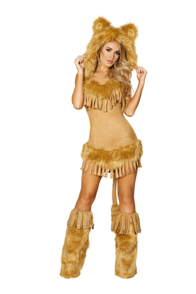 Bashful Lion Costume
