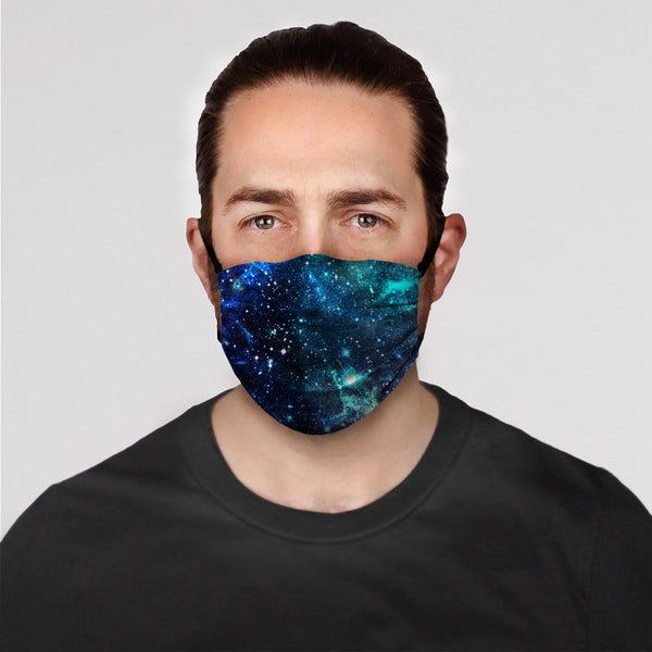 Blue Galaxy Mask