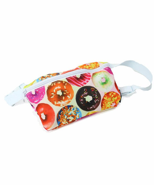 Donuts Print Fanny Pack