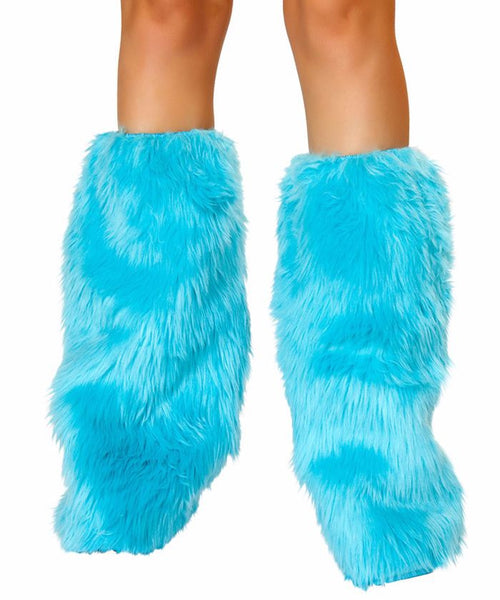 Turquoise Fluffies