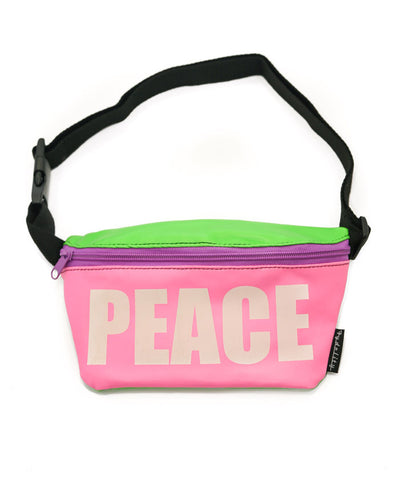 Peace Glow In The Dark Fanny Pack