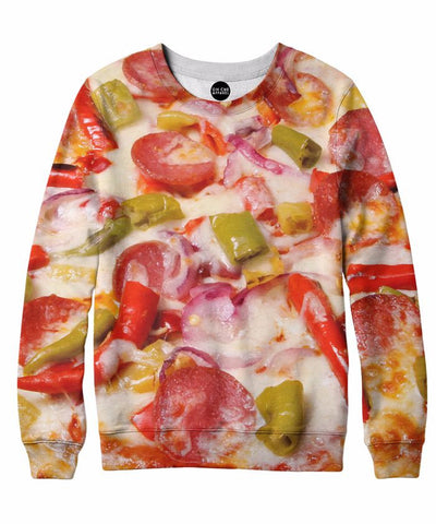 Combo Pizza Crewneck Sweatshirt