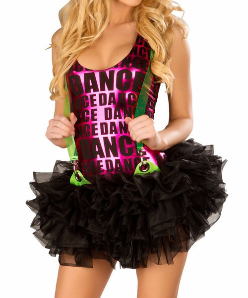 Black Suspender Tutu