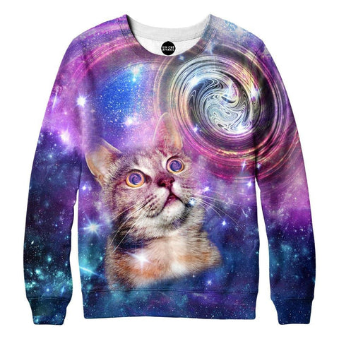 Amazed Cat Sweatshirt