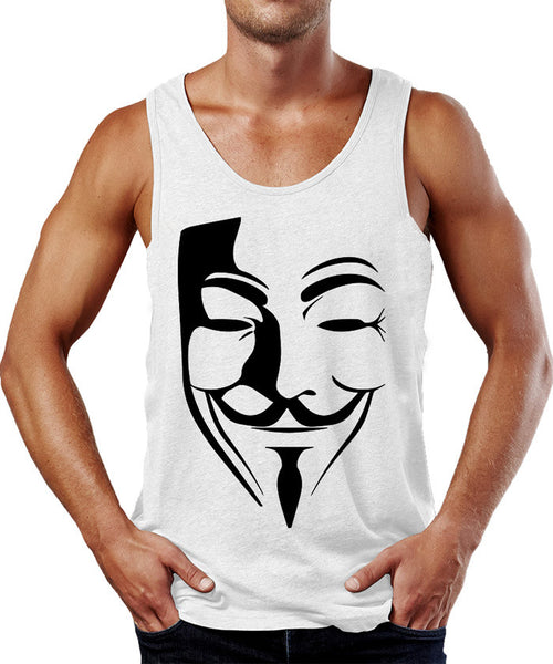 Guy Fawkes Raves Tank Top