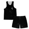 Drifting Away Tank and Shorts Rave Outfit