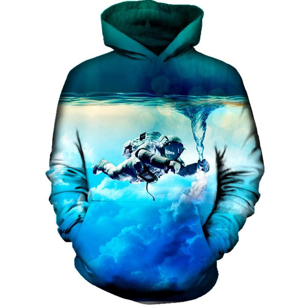Astronaut Force Hoodie