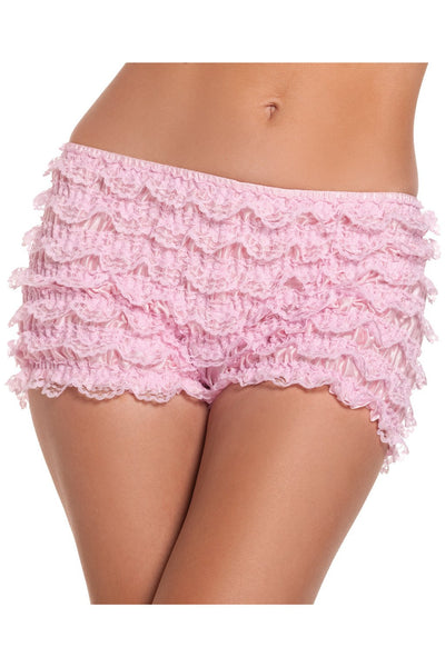 Stretch Ruffled Shorts