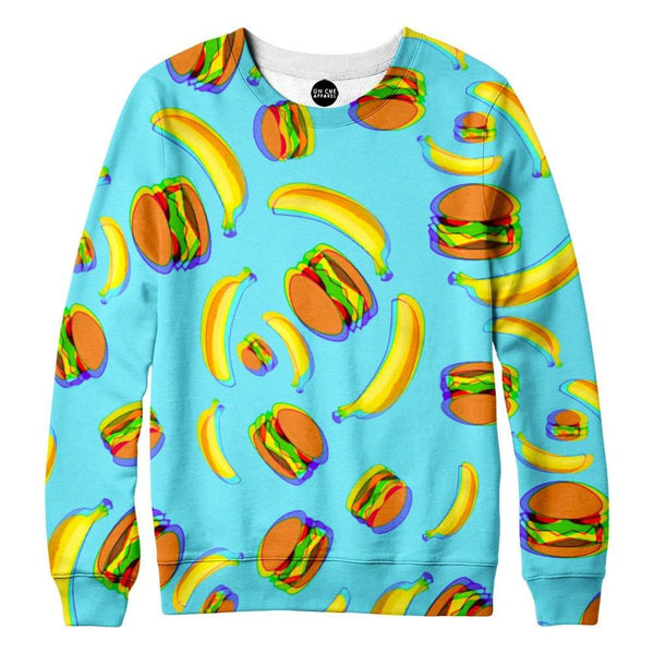 Bananas and Burgers Sweatshirt