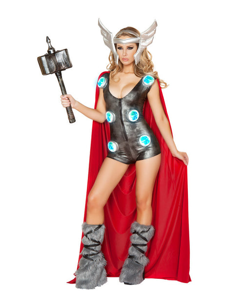 Light-Up Asgardian Queen Costume