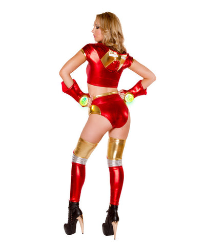 Light-Up Miss Iron Potts Costume