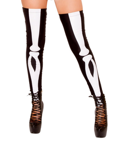 Sexy Skeleton Thigh-Highs
