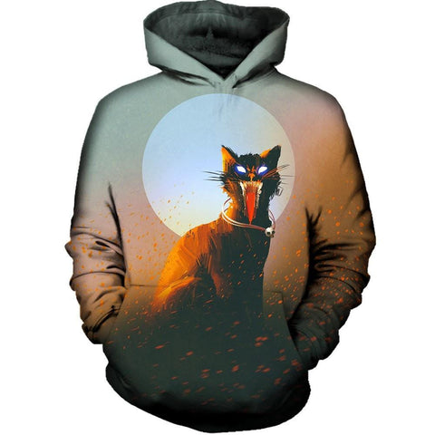 Screaming Cat Hoodie