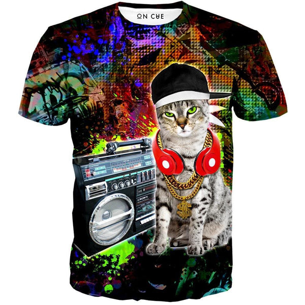 Gangster Kitty T-Shirt