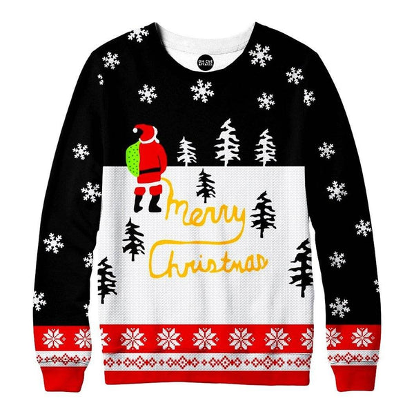 Decorating Santa Sweatshirt