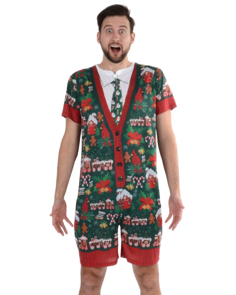 Ugly Xmas Adult Romper