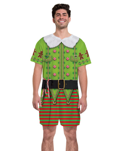Elf Xmas Adult Romper