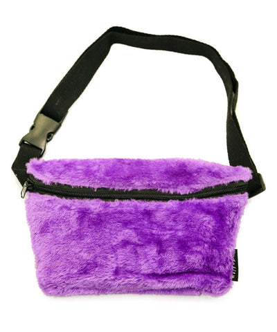 Purple Super Furry Fanny Pack