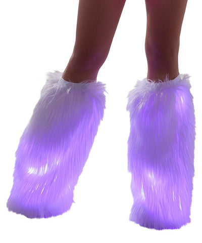 Pink Light-Up Fluffies
