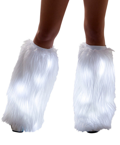 White Light-Up Fluffies