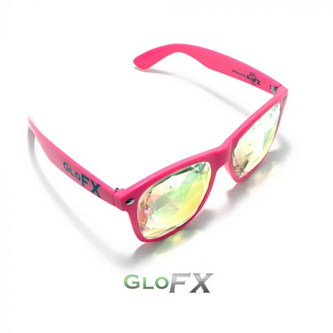 Pink Ultimate Kaleidoscope Glasses