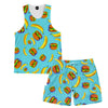 Bananas And Burgers Tank and Shorts Rave Outfit