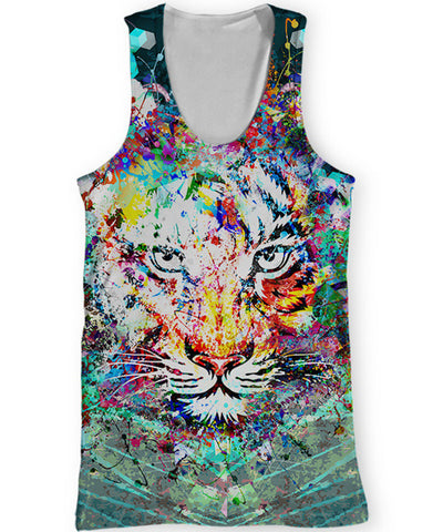 Hungry Tiger Tank Top