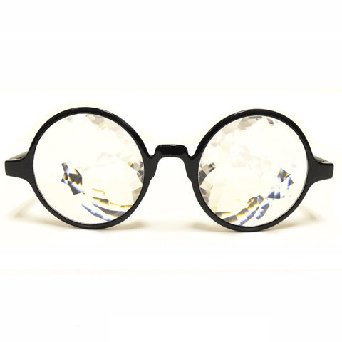 Black Kaleidoscope Glasses
