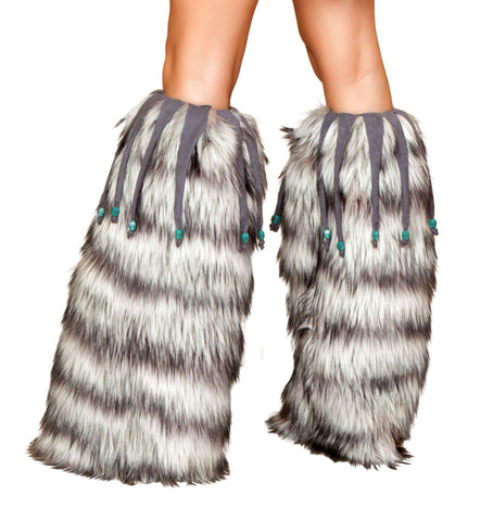 Fluffies with Beaded Fringes