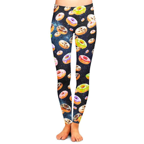 Donuts and Space Leggings
