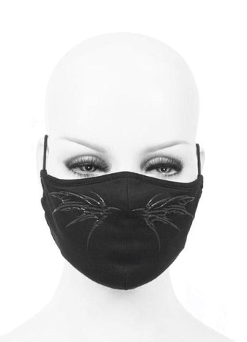 Bat Black Mask