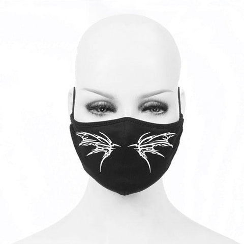 Bat White Mask