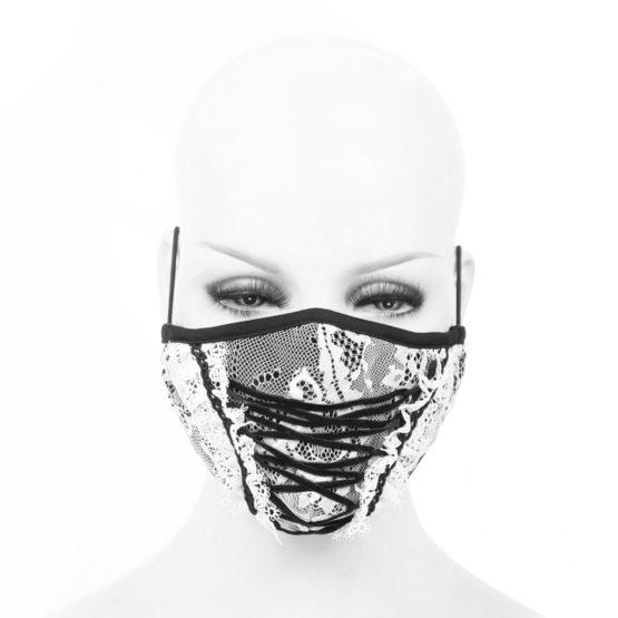 White Lace Mask
