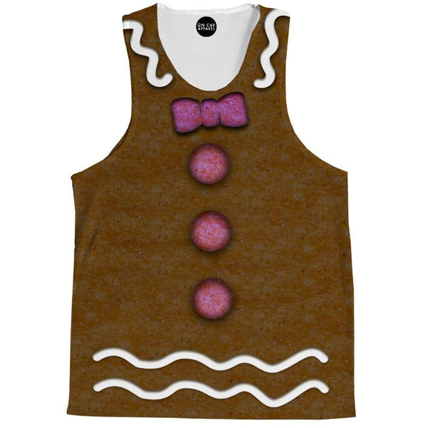 Gingerbread Man Tank Top