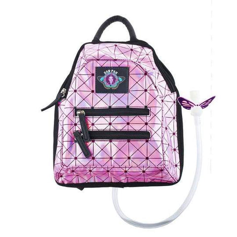 Pink Holographic Disco Mini Hydration Pack