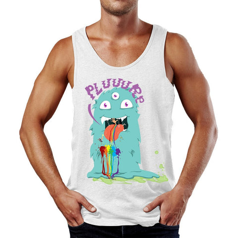 PLUR Eating Monster Tank Top