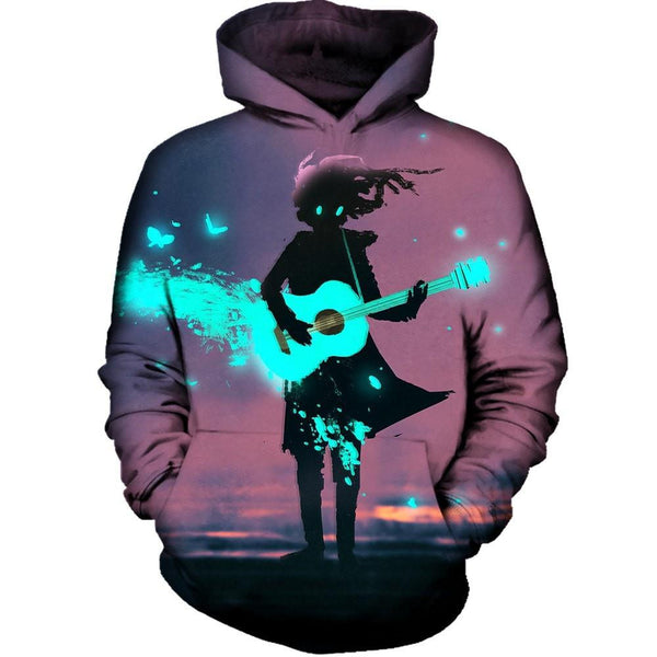 Power Of Music Hoodie